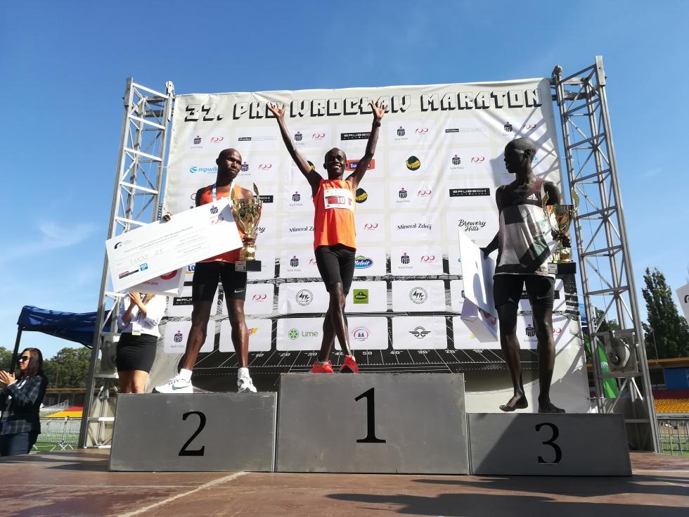 4 sekundy odrekordu trasy - 37. PKO Wrocław Maraton za nami