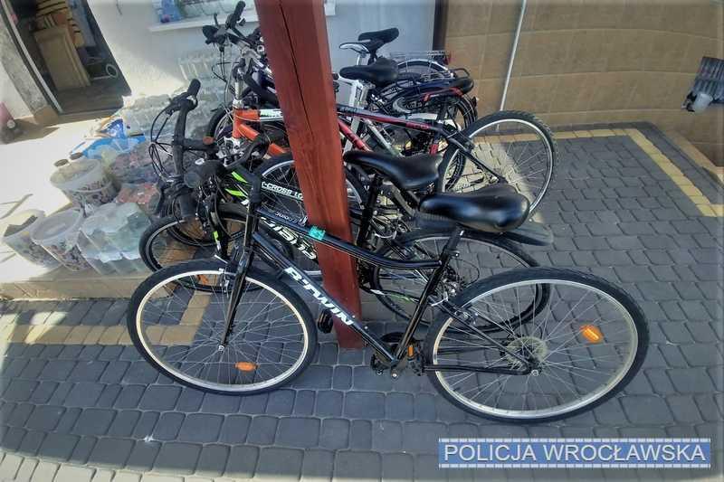 Skradzione rowery wróciły dowłaścicieli