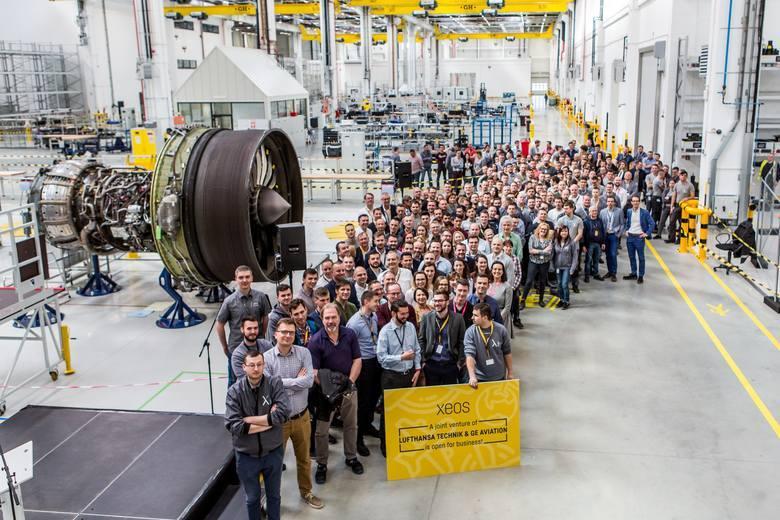 Otwarto Centrum  Serwisowania iNaprawy Silników Lotniczych XEOS